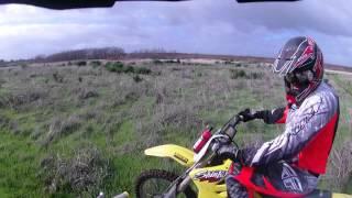 2. Test riding a  RMX450Z