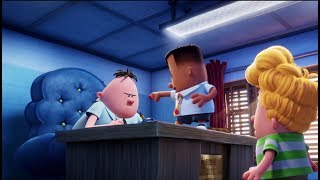 - Starring Ed Helms and Kevin Hart- In cinemas July 24- Subscribe for more: http://bit.ly/20thCenturyUK From DreamWorks Animation comes an epic feature film about a hero and his underpants. Two boys create a homemade comic book character that becomes real when they hypnotize their fun-crushing school principal and convince him that he…is tra-la-la…CAPTAIN UNDERPANTS.Starring Jordan Peele, Nick Kroll, Kevin Hart, Kristen Schaal and Ed HelmsIN CINEMAS JULY IN 2DWelcome to the official 20th Century Fox UK channel - the home of previous award winning films Star Wars, Ice Age, X-Men, Avatar, and many more. This channel will bring you exclusive trailers & clips, behind the scenes action, interviews and featurettes for our best and latest releases. Follow us on Twitter: https://twitter.com/20CenturyFoxUKLike us on Facebook: https://www.facebook.com/20thCenturyF...Follow on Instagram: https://www.instagram.com/20CenturyFoxUK+1 us on Google+: https://plus.google.com/+20centuryfoxuk/CategoryFilm & AnimationLicenceStandard YouTube LicenceCreated usingYouTube Video EditorSource videosView attributions