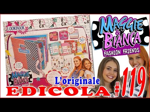 EDICOLA #119: MAGGIE & BIANCA fashion friends LOOKBOOK (by Giulia Guerra) (видео)