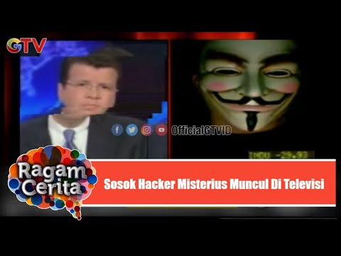 Sosok Hacker Misterius Muncul Saat Stasiun Televisi Berita Sedang Live   Ragam Cerita   Eps.39 (3/4)