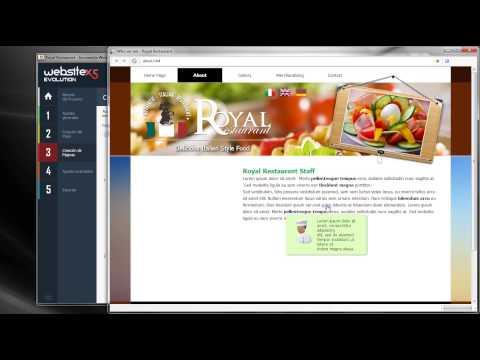 Cree sitios web con WebSite X5 v11 - Tutorial de Vìdeo