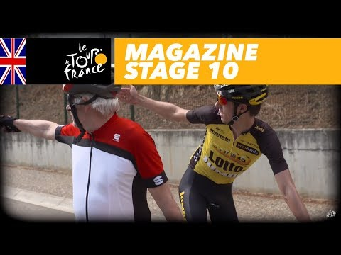 Magazine : Gerorge Bennett in Girona - Stage 10 - Tour de France 2017
