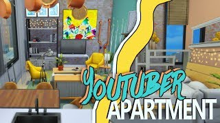 A Los Angeles and youtuber inspired apartment! It has one bedroom, one bathroom and an open plan, kitchen, living and dining area.  Hope you like it! Lets hope I don't actually shart myself before flying out there aHH MUCH ANXIOUS VERY NERVOUS ----------------------------------------­--------------------------♦ Links ♦▶ Twitter - https://twitter.com/steph0sims▶ Instagram - https://www.instagram.com/steph0sims/▶ google+ - https://plus.google.com/u/0/b/112251047156963251564/+steph0sims/posts?pageid=112251047156963251564▶ Website - http://www.steph0sims.com/----------------------------------------­--------------------------♦ Hi, I'm Steph and welcome to my channel! I'm a 17 year old content creator from the UK! My channel is focused around the sims and you'll find plenty of content such as house building videos, lets plays, room builds and much more. Hope you find something you enjoy and please subscribe if you do! ♦----------------------------------------­--------------------------Music from Epidemic sounds http://www.epidemicsound.com
