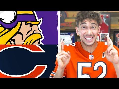 Minnesota Vikings vs Chicago Bears Week 10 Prediction & Preview