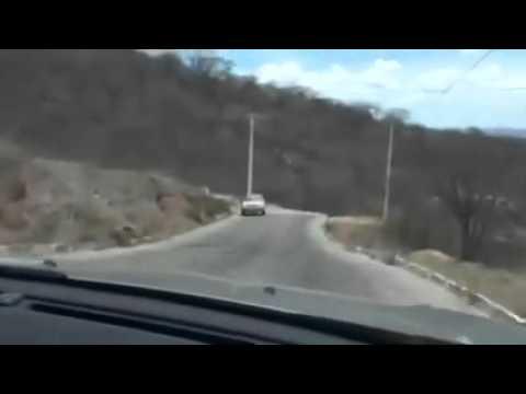 Deputado Kelps Lima filma insegurança da rodovia entre Tenente Laurentino Cruz e Florânia