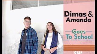 Video Dimas Anggara & Amanda Rawles berangkat sekolah MP3, 3GP, MP4, WEBM, AVI, FLV Juli 2018