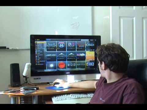 Free Television - http://www.pcmech.com - Joost.com is a free, internet-based television system that looks really cool. Watch David show it to you as he demonstrates it on a b...