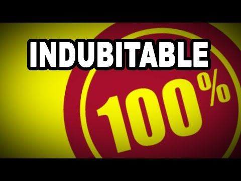 Learn English Words: INDUBITABLE - Meaning, Vocabulary with Pictures and Examples