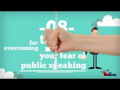 Learn how to overcome the Fear of Public Speaking: 8 tips