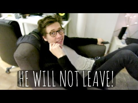 will - HE JUST WON'T FLIPPIN' LEAVE! ▻WILL- https://www.youtube.com/user/willdarbyshirefilm ▻Subscribe for more videos! - http://bit.ly/1rVi3sA ▻Get my app VidiBee...