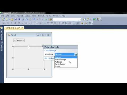 Screen Capture Application – C# Tutorial