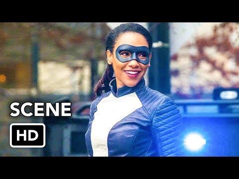 "The Flash 4x16 ""Speedster Iris vs Metahuman"" Scene (HD)"