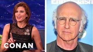 Eva Mendes' Mortifying Text To Larry David - CONAN on TBS