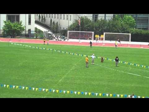 Ty Shaffer Wins the 400m Hurdles