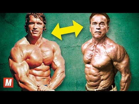 Arnold Schwarzenegger | From 17 To 70 Years Old (видео)