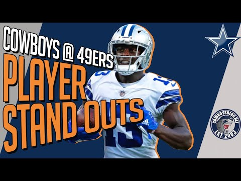 Which Players Stood Out | Cowboys vs 49ers Postgame