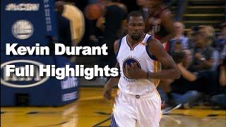 Kevin Durant Full Highlights vs Portland by NBA