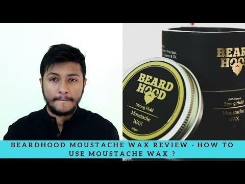 Beardhood Moustache And Beard Wax Review - How to USE Moustache Wax ?