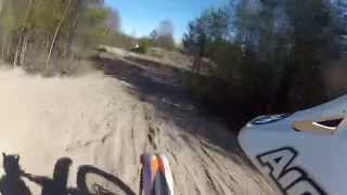 8. KTM SX-F 250 First Ride - GoPro HD