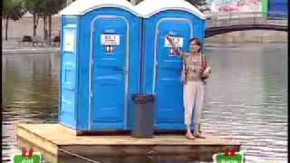 Just For Laugh - Floating Toilet.