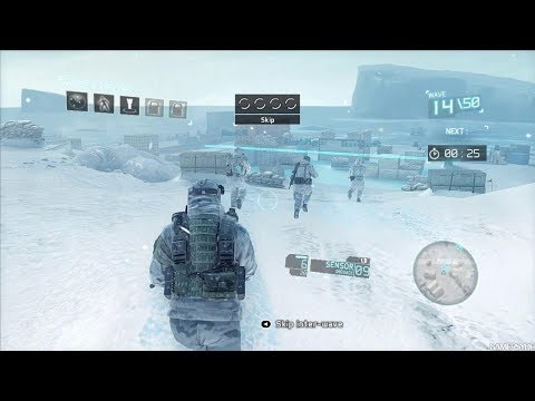 Amazing Winter Stealth Mission from Cool FPS Game Tom Clancy's Ghost Recon Future Soldier (видео)