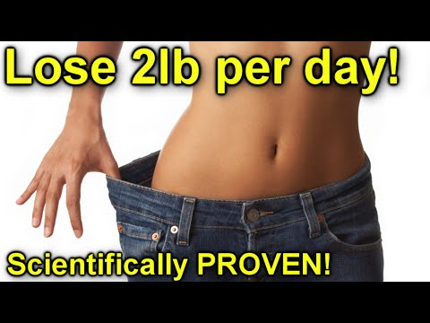 how to lose 1kg in 1 day
