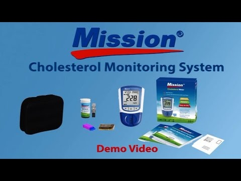 Mission Cholesterol Monitoring System Demo