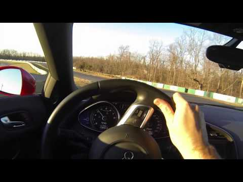 Video R8 V10 Challenge Extreme in-car hot lap of Summit Point Shenandoah Circuit