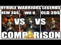 COMPARISON 30 / Hyrule Warriors Legends //