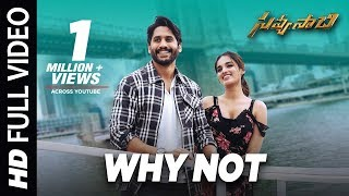 Why Not Song Lyrics from Savyasachi - Naga Chaitanya