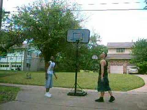 us playing basketball