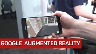 Tango phones and impressive new apps show Google's ambitions for augmented reality in classrooms and homes, and how it'll ...