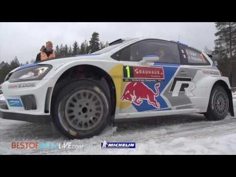 Vídeo de la segunda jornada del WRC Rally de Suecia 2014