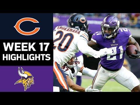 Video: Bears vs. Vikings | NFL Week 17 Game Highlights