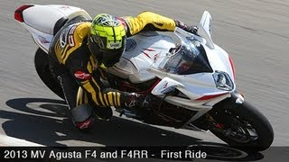 6. 2013 MV Agusta F4 & F4RR First Ride - MotoUSA