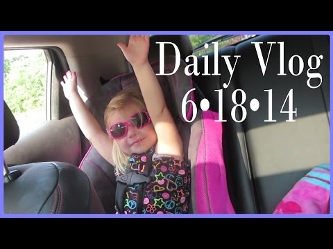 DR APPT – SUGAR TEST – BABY KICKING IN BELLY│6•18•14 DAILY VLOG