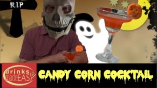 How To Make A Candy Corn Cocktail (Martini) -Drinks Made Easy