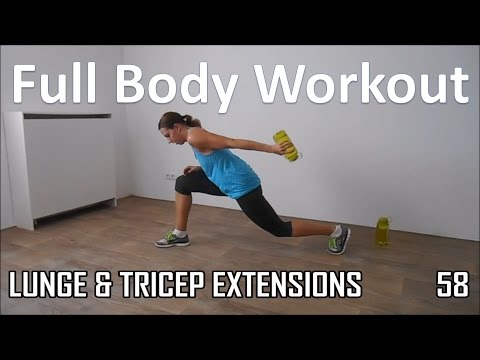 20 Minute Full Body Workout – Cardio and Strength Routine Without Equipment