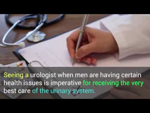When Should Men See A Urologist