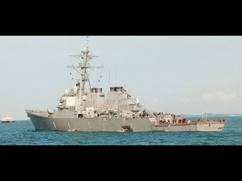 BREAKING NEWS: Navy Destroyer USS McCain Collides with Tanker, 10 Sailors Missing