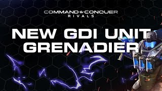 NEW GDI UNIT: THE GRENADIERS - In-Depth Match ups/thoughts | CnC Rivals