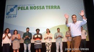 Luís Silveira –CDS /PP – apresentou a sua c. á C. M. de Velas