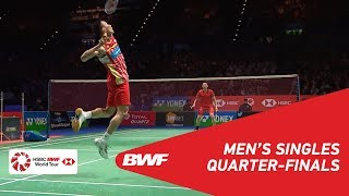 Video MS | LIN Dan (CHN) [6] vs LEE Chong Wei (MAS) [2] | BWF 2018 MP3, 3GP, MP4, WEBM, AVI, FLV September 2018