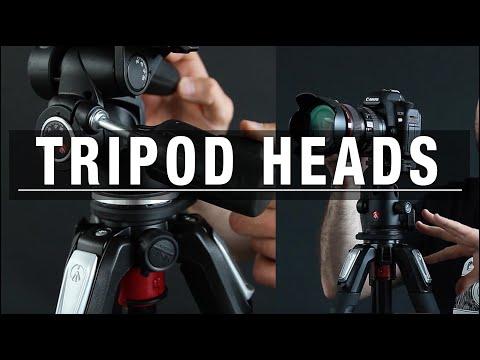 Tripod Heads - Pan and Tilt or Ball head tripods?