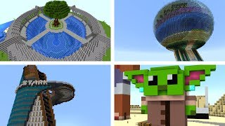 Awesome Survival Builds On My Minecraft Server