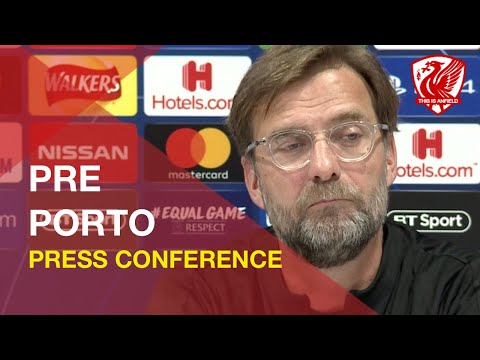 Liverpool Vs. FC Porto  | Jurgen Klopp Press Conference