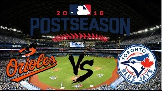 Nonton 2016 Al Wild Card Highlights   Orioles Vs Blue Jays Film Subtitle Indonesia Streaming Movie Download
