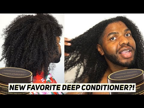 Y'ALL HEAR WHAT'S IN THIS DEEP CONDITIONER? OMG!