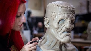 How Lifelike FX Creature Masks Are Made