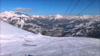 Pra Loup France  city photo : Beautiful mountains of Alps, France, ski resort Pra Loup - Val d'Allos